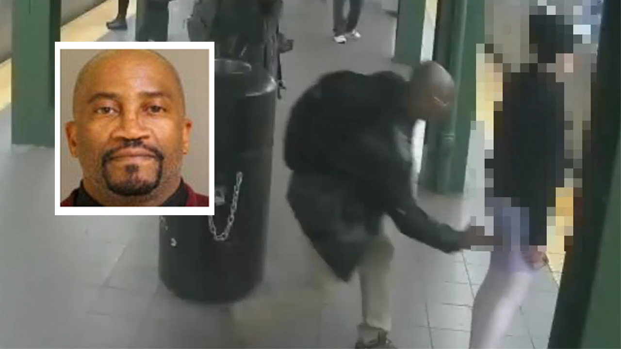 george shaw groping suspect