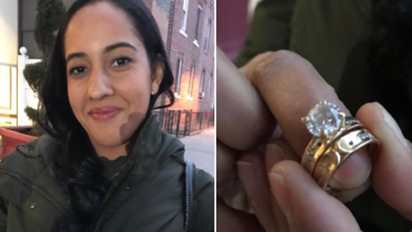 Woman finds matching wedding, engagement ring in Brooklyn