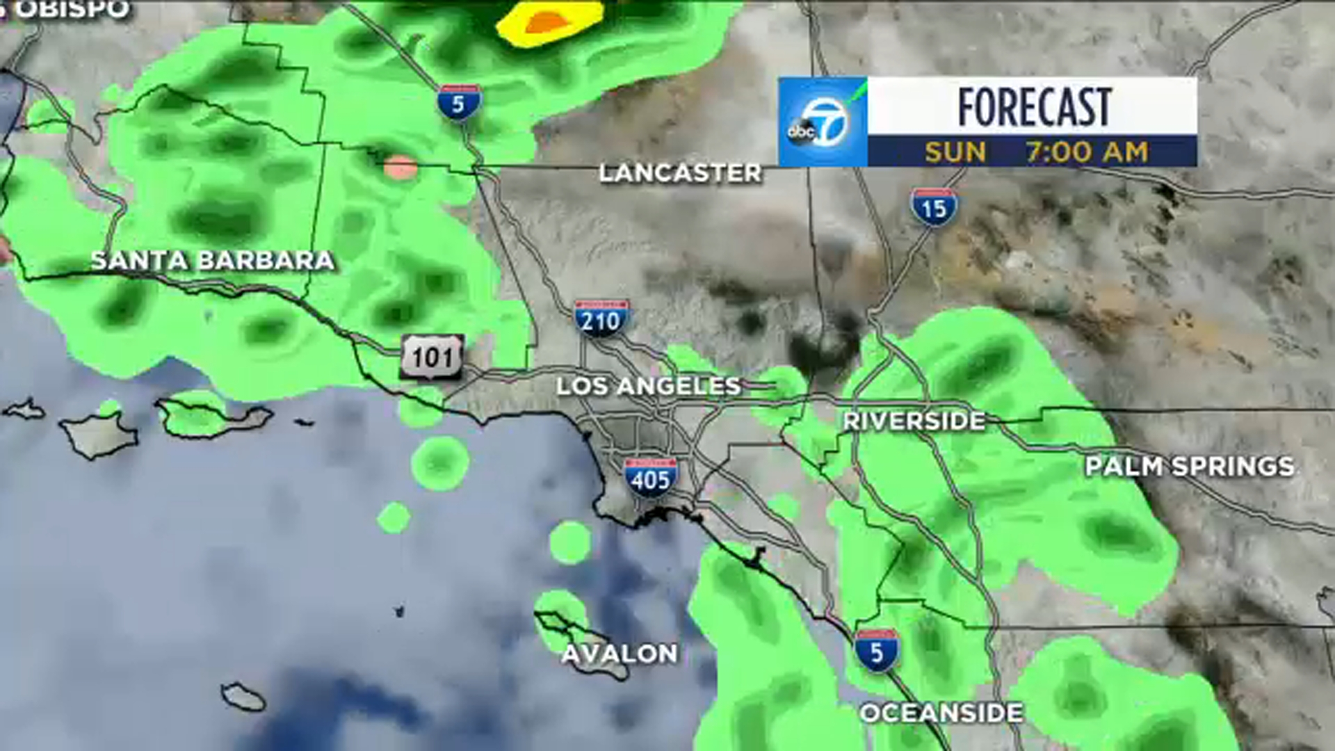 SoCal weather: Scattered showers expected Saturday and Sunday