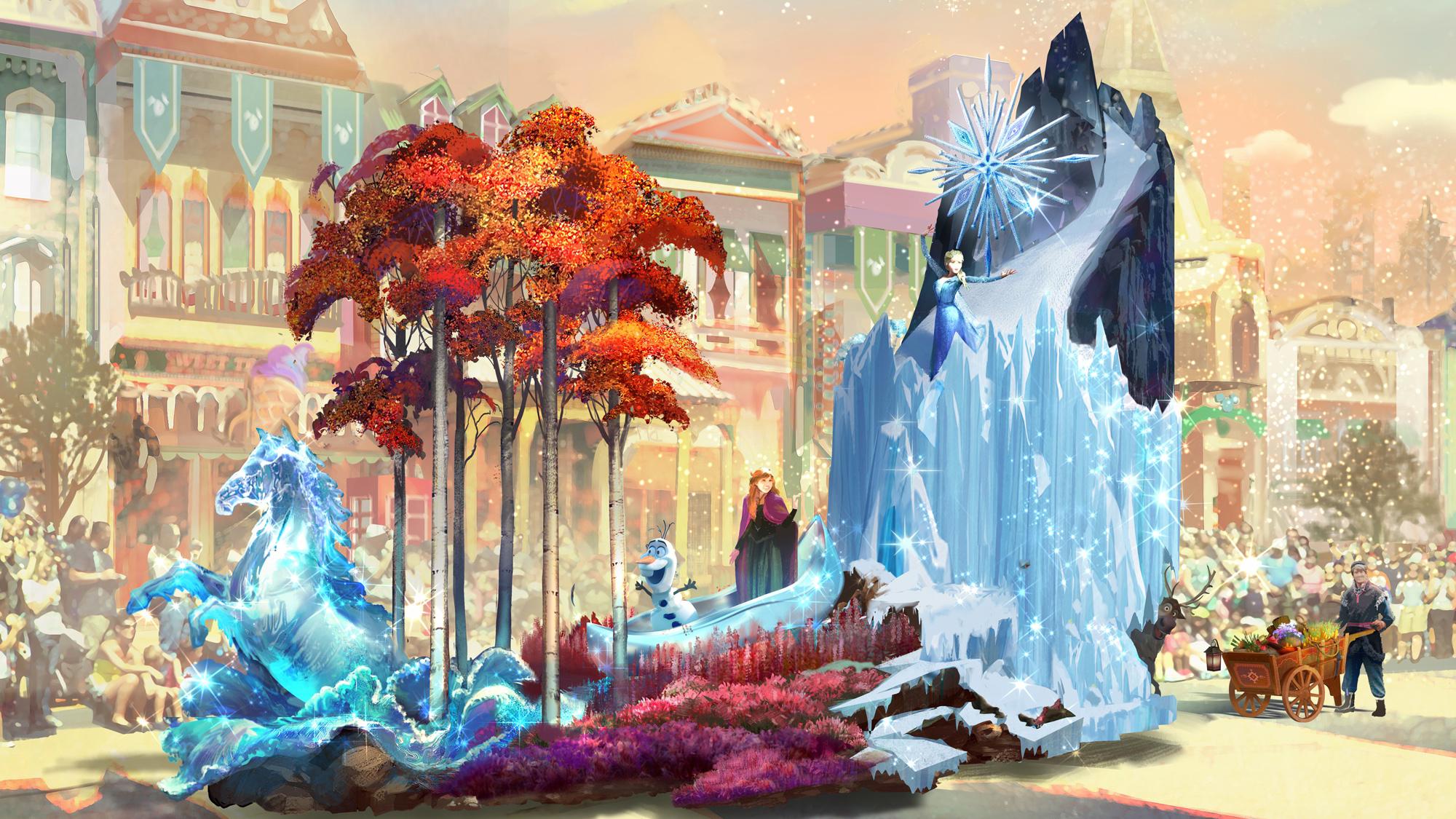 The new Magic Happens parade will debut at Disneyland Resort Feb. 28.