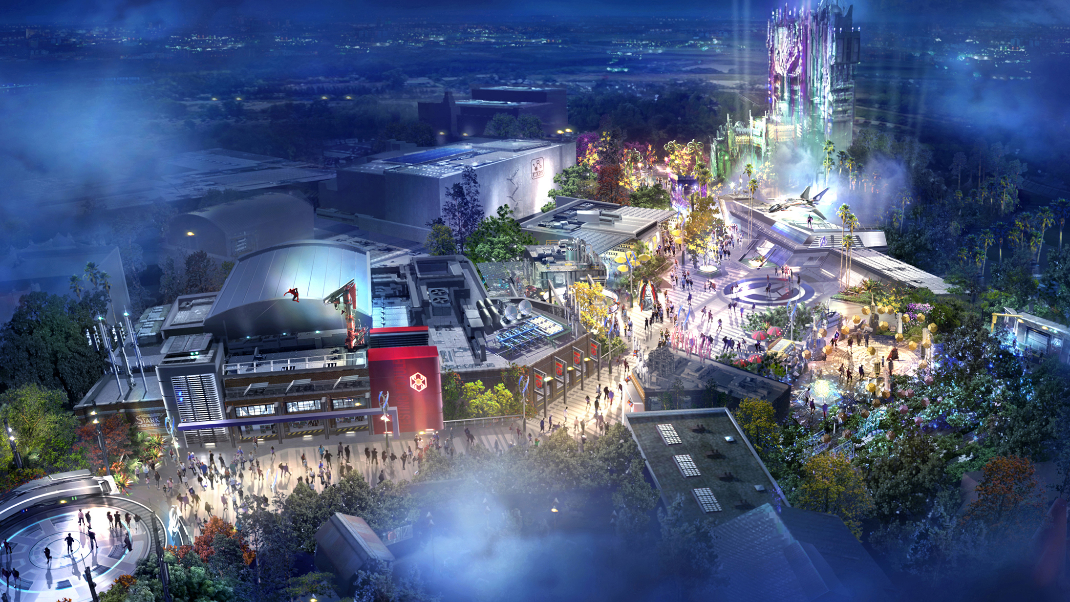 Disneyland California Adventure Park will debut Avengers Campus in 2020.