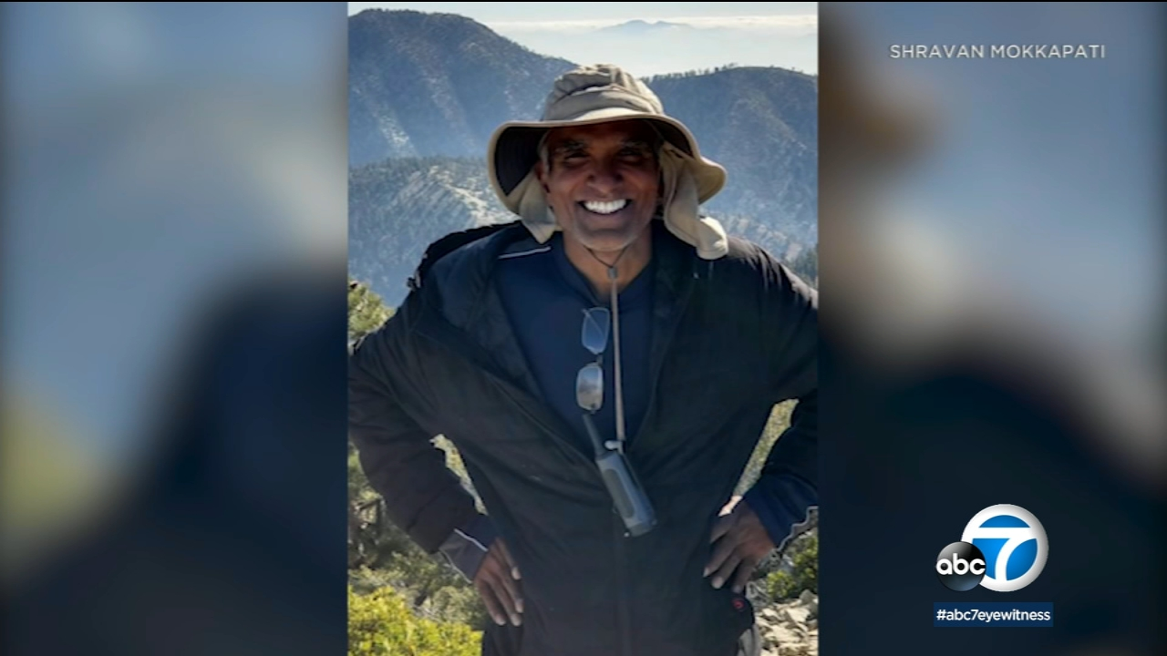 "Sreenivas ""Sree"" Mokkapati went missing after going hiking on Mount Baldy."