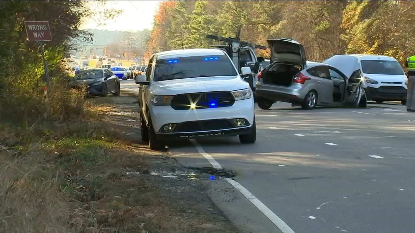 2 arrested after fleeing heroin bust, hitting 7 cars in Chapel Hill