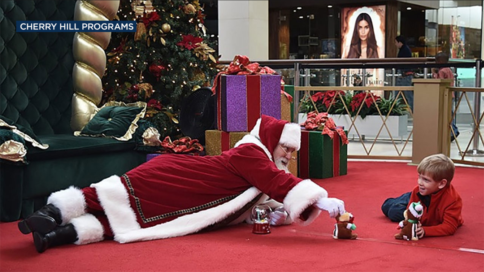 Special visit with Santa available in SoCal for children with autism