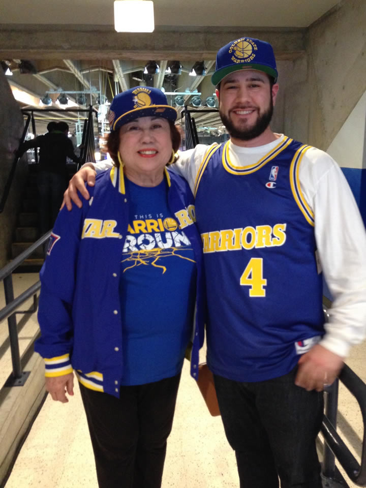 <div class='meta'><div class='origin-logo' data-origin='none'></div><span class='caption-text' data-credit='KGO-TV/uReport'>Golden State Warriors fans are showing off their team pride. Send your fan photos to uReport@kgo-tv.com!</span></div>