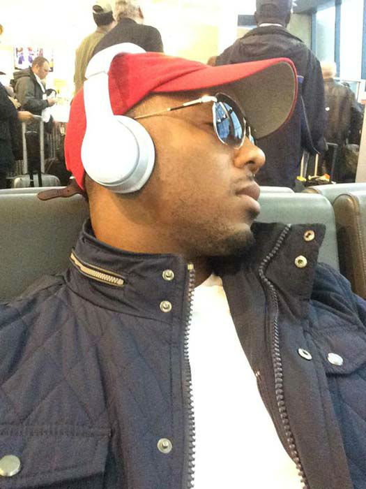 """<div class=""""meta image-caption""""><div class=""""origin-logo origin-image none""""><span>none</span></div><span class=""""caption-text"""">Chauncy Glover during a day of traveling home from covering a story in Vermont (KTRK Photo)</span></div>"""
