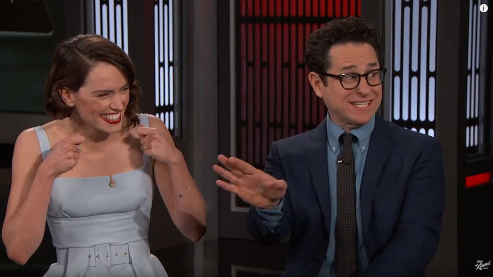 J J Abrams And Daisy Ridley Admit What They Stole From Star Wars Set Abc7 San Francisco