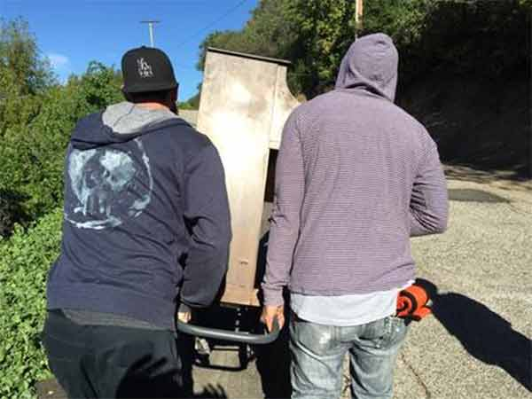 "<div class=""meta image-caption""><div class=""origin-logo origin-image none""><span>none</span></div><span class=""caption-text"">Filmmaker Michael Faner and his friends pull a piano up a steep hillside in the Santa Monica Mountains National Recreation Area on Tuesday, March 24, 2015. (Michael Faner and Rachel Wong)</span></div>"