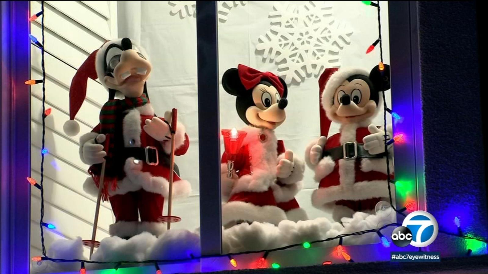 Christmas Neighborhoods Drive To Near San Bernardino 2020 Rancho Cucamonga neighborhood puts on magical Christmas light