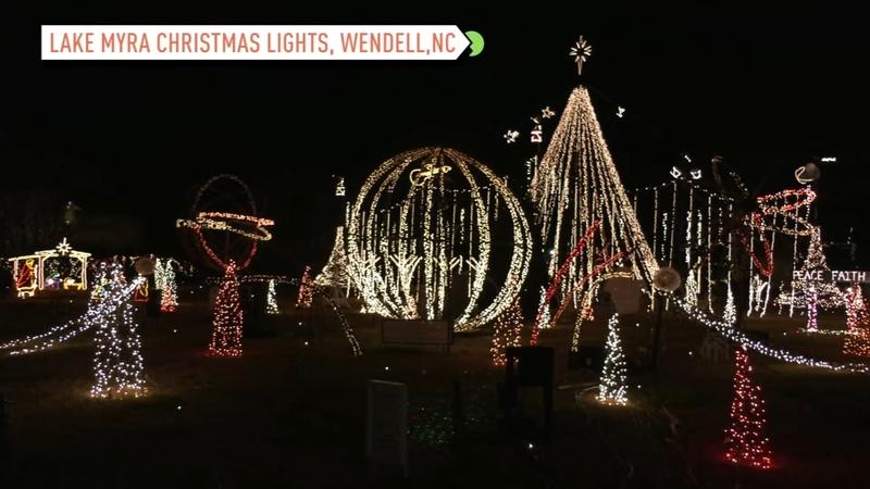 NC holiday lights 2020: Here are North Carolina Christmas light