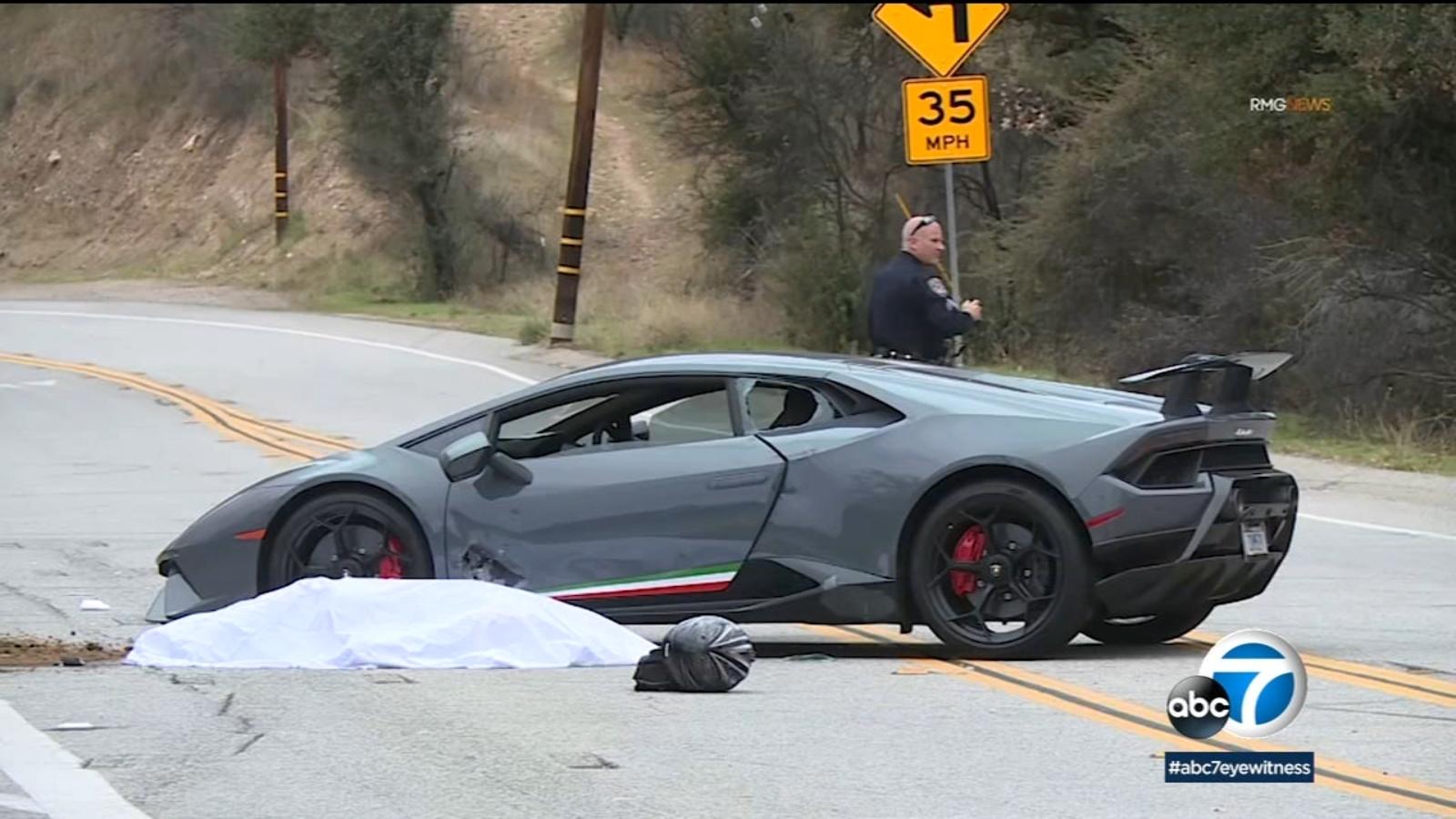 Lamborghini Motorcycle Crash Leaves 1 Dead In Agoura Hills Abc7 Los Angeles