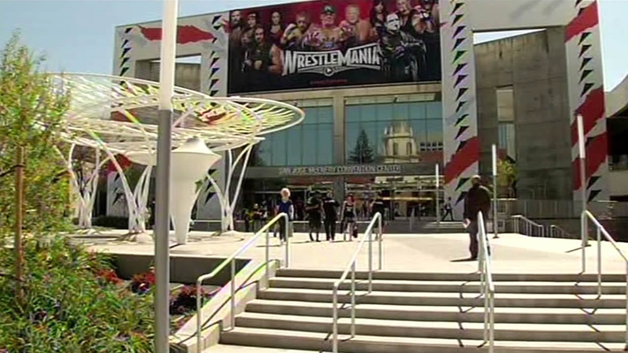 Levi's Stadium Wrestlemania