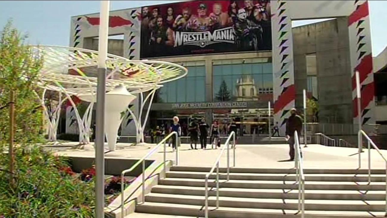 Levi's Stadium Wrestlemania