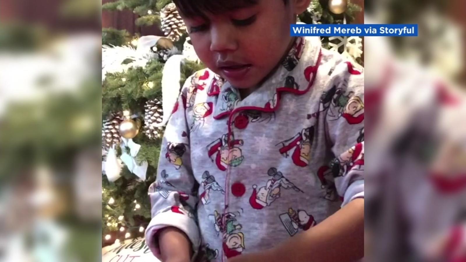 Video 4 Year Old Boy Receives An Avocado As Christmas Present From Santa In Eureka Abc7 San Francisco