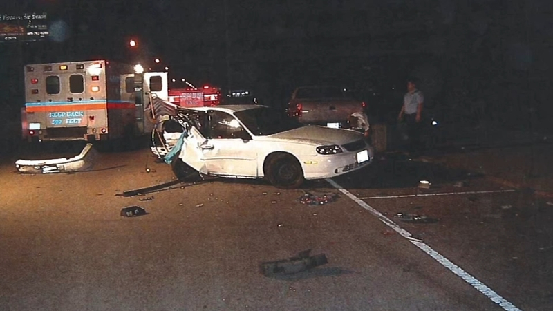 Driver, officer injured in crash responding to springfield walmart.