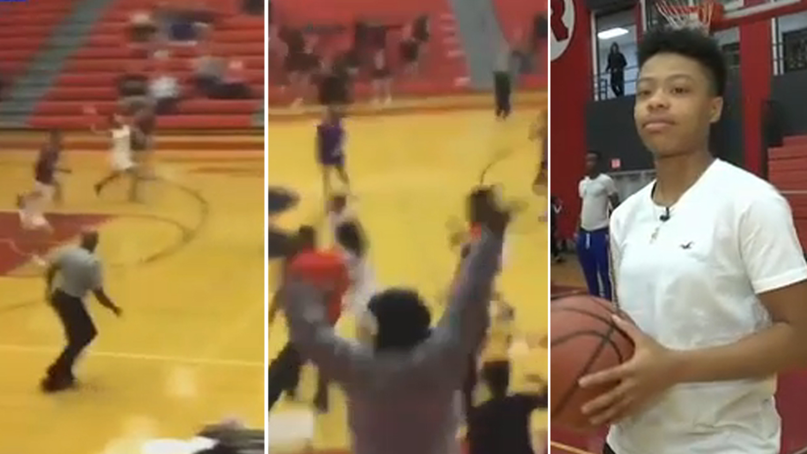 Reading High School Basketball Player Makes Miracle Buzzer Shot To Force Overtime 6abc Philadelphia