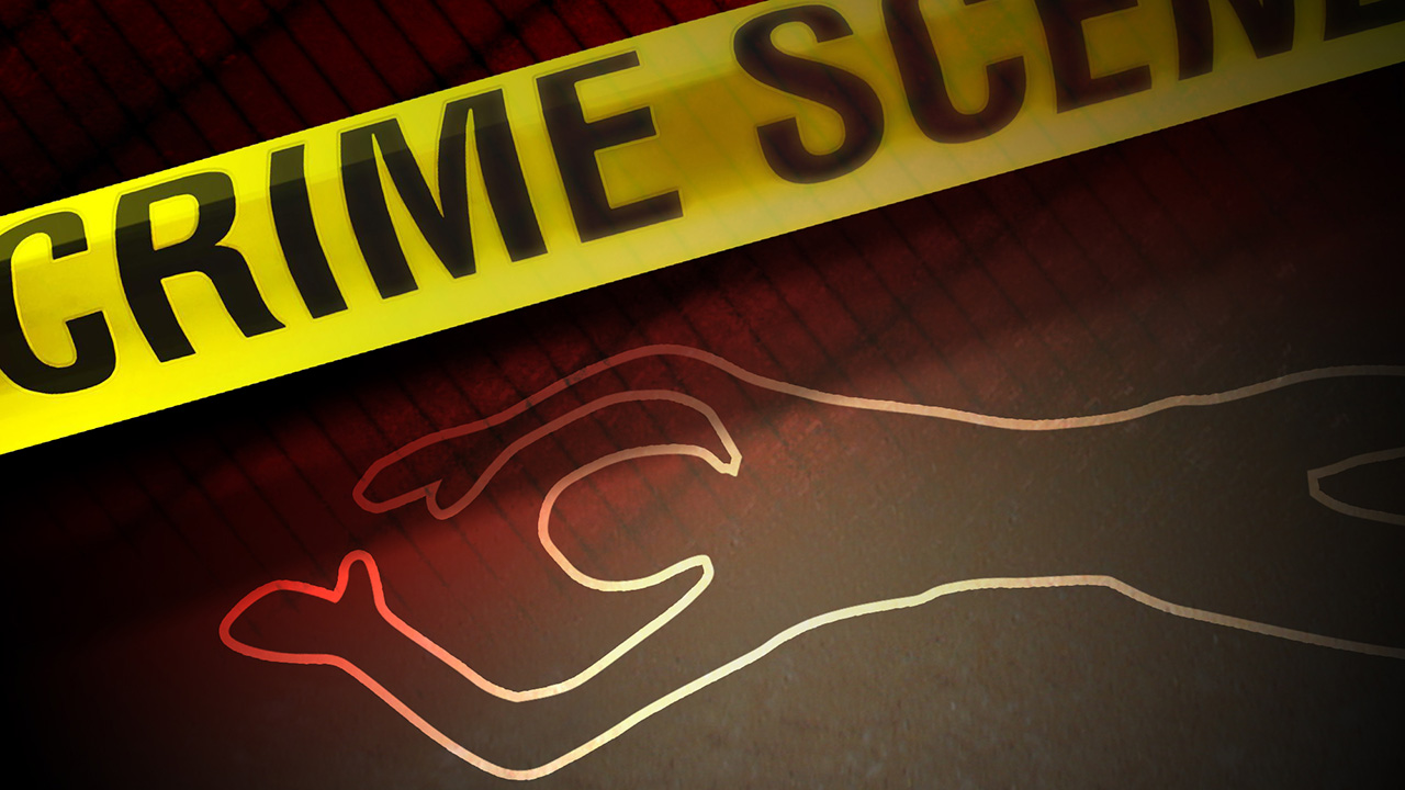 Crime scene drawing
