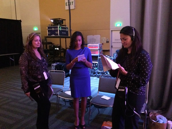 "<div class=""meta image-caption""><div class=""origin-logo origin-image ""><span></span></div><span class=""caption-text"">ABC7 News anchor Ama Daetz backstage before introducing the mornning's keynote speakers. (KGO)</span></div>"