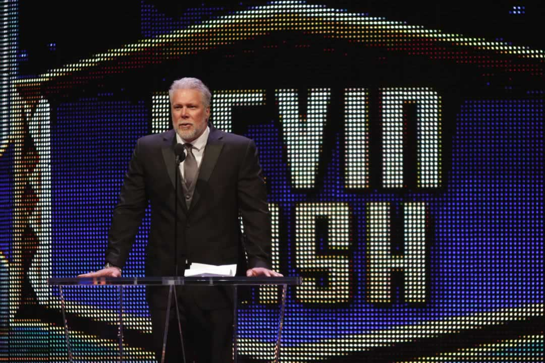 "<div class=""meta image-caption""><div class=""origin-logo origin-image none""><span>none</span></div><span class=""caption-text"">Kevin Nash gives his acceptance speech at the WWE Hall of Fame Ceremony, on Saturday, March 28, 2015 in San Jose, Calif.  (Don Feria/AP Images for WWE)</span></div>"