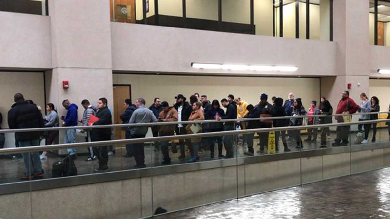 DMV service in New York hit by national outage