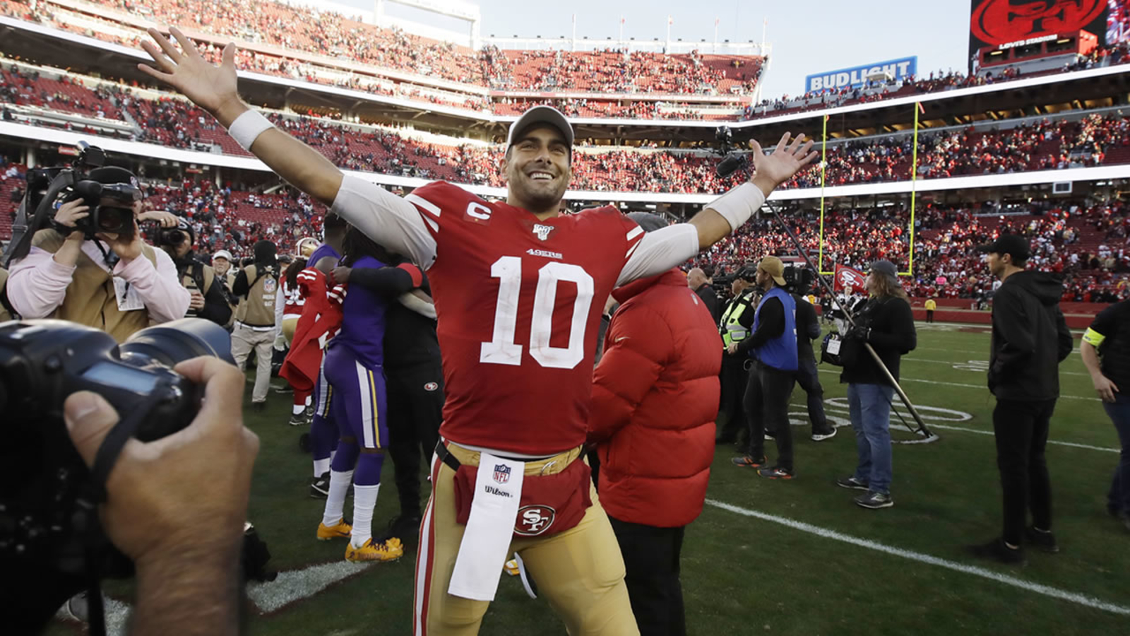 49ers vs Packers: Niners sell out first NFC Championship Game at Levi's Stadium