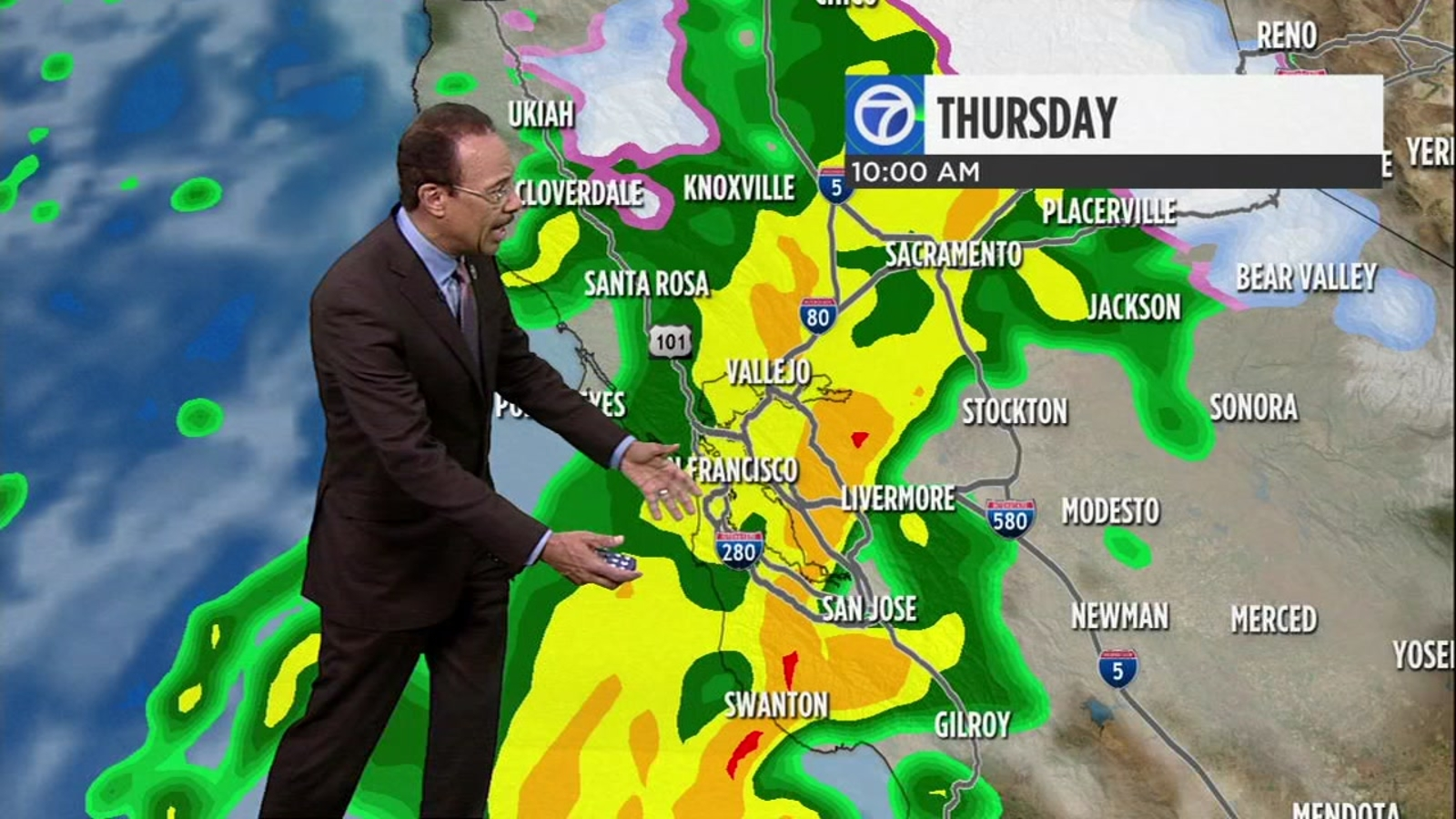 AccuWeather forecast: Storm moves in overnight, strengthens tomorrow morning