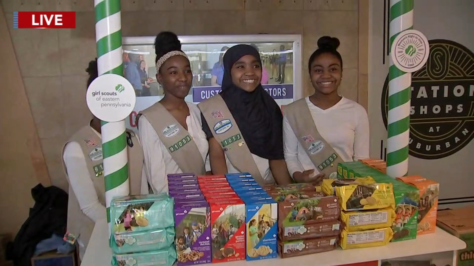 Girl Scout Cookie sales have begun