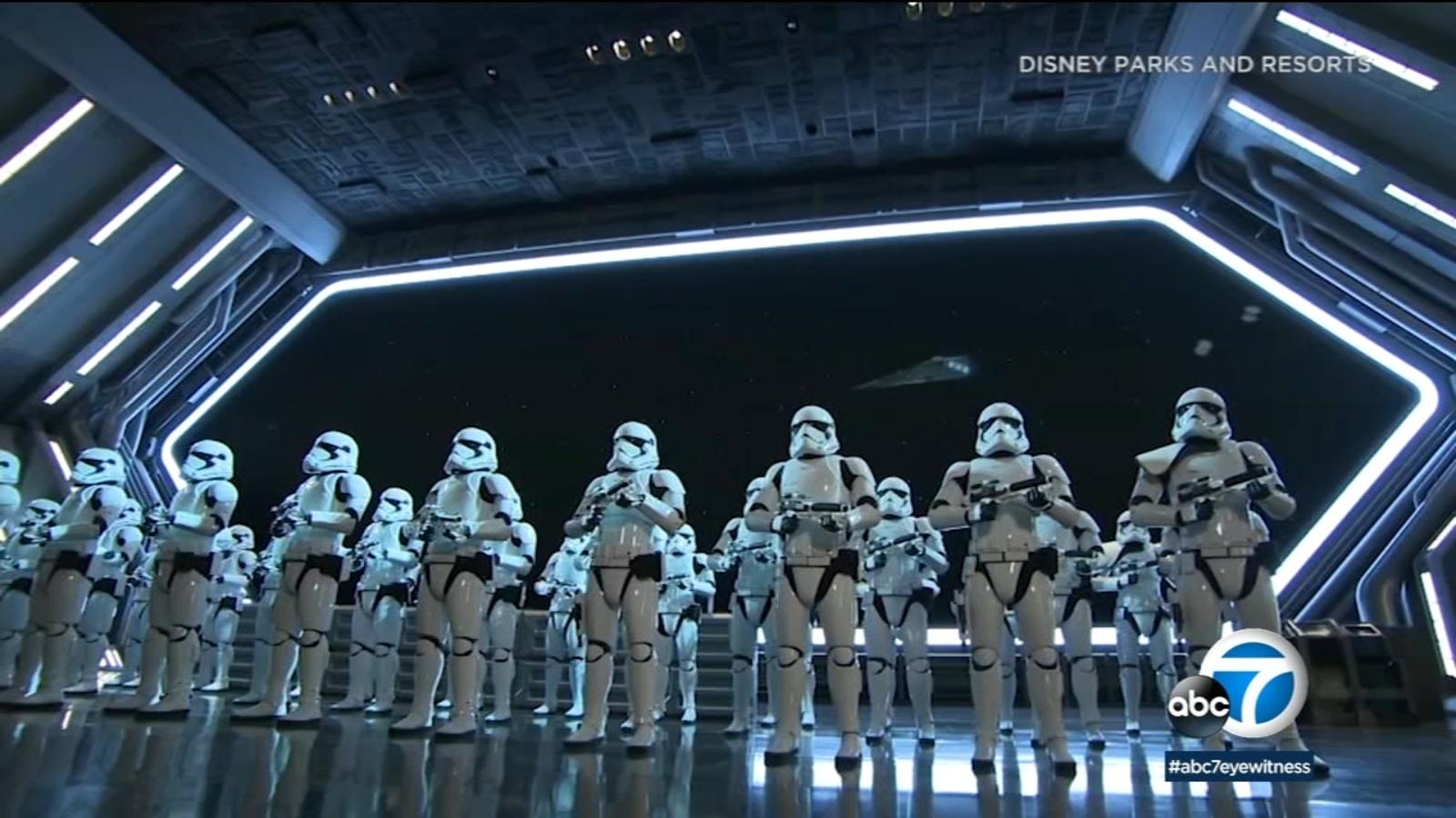 Sneak Peek Rise Of The Resistance Opening At Disneyland S Star Wars Land Abc7 Los Angeles