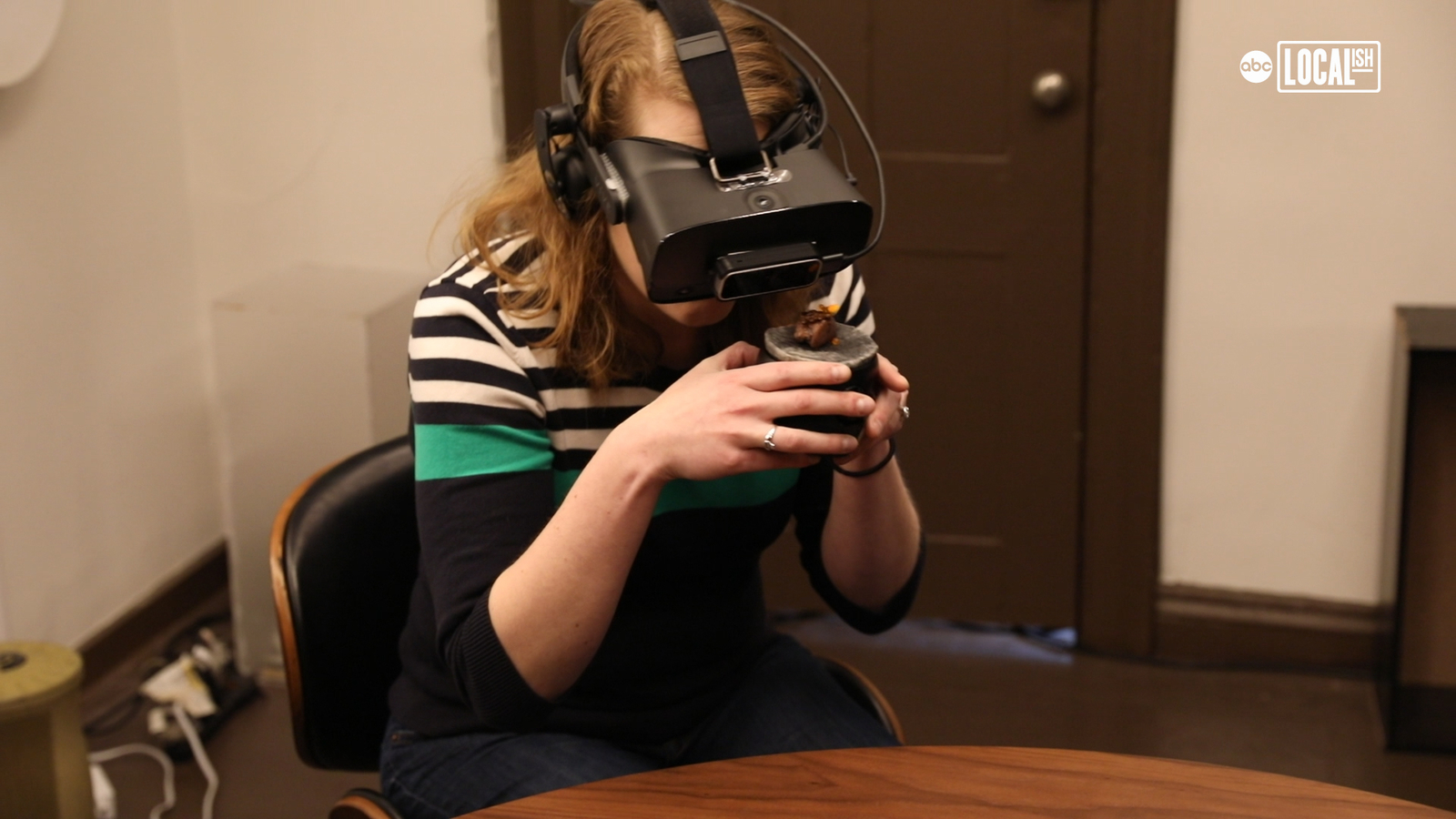 Virtual reality, food, and fantasy combine for a mind-altering dining experience