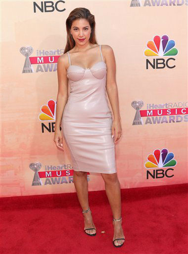 "<div class=""meta image-caption""><div class=""origin-logo origin-image none""><span>none</span></div><span class=""caption-text"">Liz Hernandez arrives at the iHeartRadio Music Awards at The Shrine Auditorium on Sunday, March 29, 2015</span></div>"