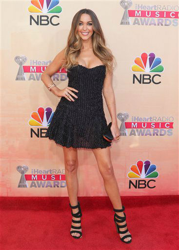 "<div class=""meta image-caption""><div class=""origin-logo origin-image none""><span>none</span></div><span class=""caption-text"">Courtney Bingham arrives at the iHeartRadio Music Awards at The Shrine Auditorium on Sunday, March 29, 2015 (AP)</span></div>"
