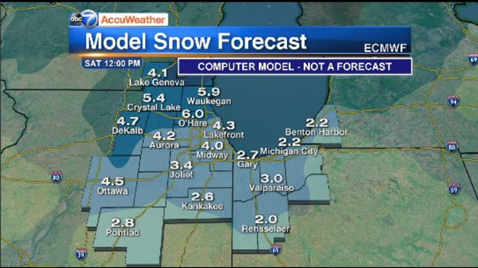 Chicago Weather: Snow spreads south, hazardous travel expected