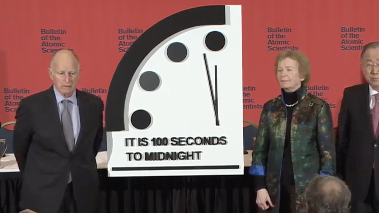 Doomsday Clock Reset To 100 Seconds To Midnight For 2020 Abc7