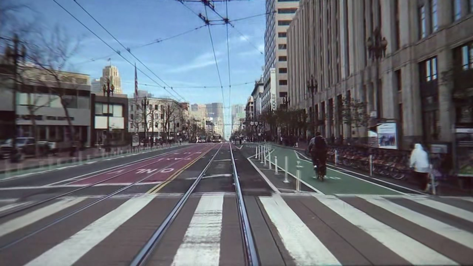 San Francisco prepares to close part of Market Street off to private cars, Uber and Lyft