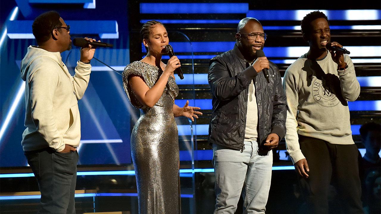 Grammys honors Kobe Bryant with Alicia Keys, Boyz II Men tribute performance