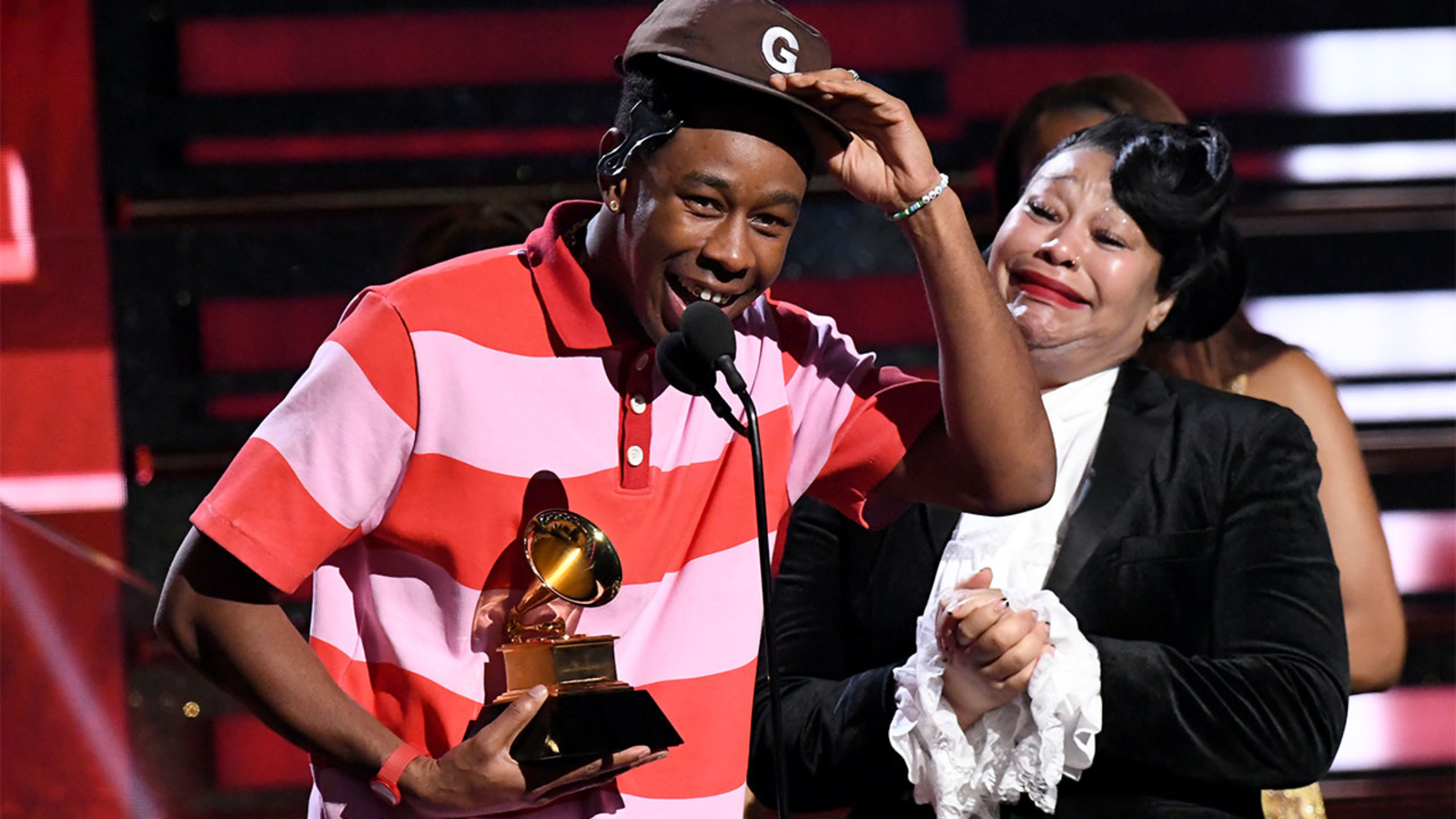 grammys 2020 tyler the creator brings mom onstage for acceptance speech abc30 fresno grammys 2020 tyler the creator brings mom onstage for acceptance speech abc30 fresno