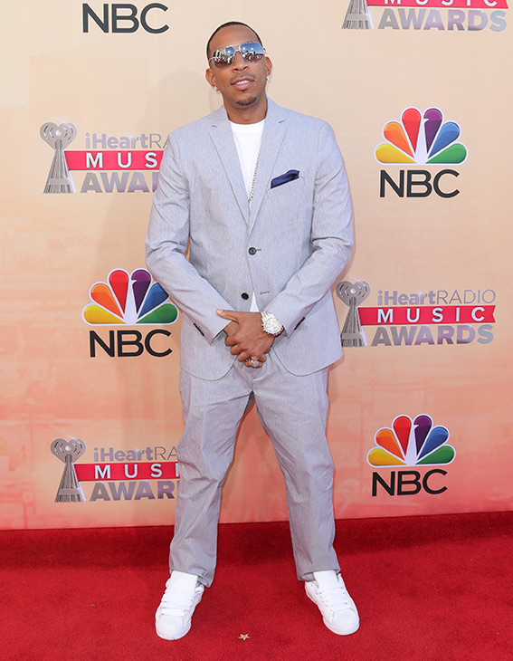 """<div class=""""meta image-caption""""><div class=""""origin-logo origin-image none""""><span>none</span></div><span class=""""caption-text"""">Ludacris arrives at the iHeartRadio Music Awards at The Shrine Auditorium on Sunday, March 29, 2015, in Los Angeles. (John Salangsang/Invision/AP)</span></div>"""