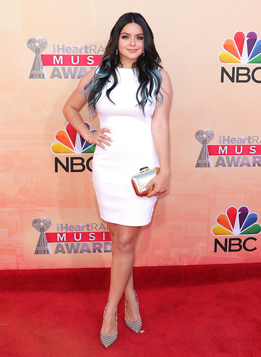 """<div class=""""meta image-caption""""><div class=""""origin-logo origin-image none""""><span>none</span></div><span class=""""caption-text"""">Ariel Winter arrives at the iHeartRadio Music Awards at The Shrine Auditorium on Sunday, March 29, 2015, in Los Angeles. (John Salangsang/Invision/AP)</span></div>"""