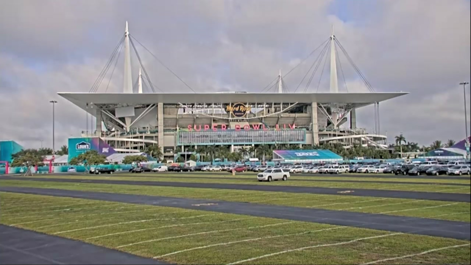 Stepped Up Security In Miami Ahead Of Super Bowl 2020