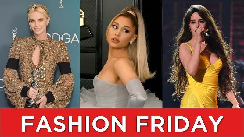 ariana grande grammys dress charlize theron and more fashion favorites from this week abc7 san francisco ariana grande grammys dress charlize