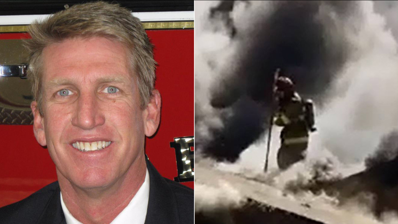 Fresno Fire Captain Pete Dern