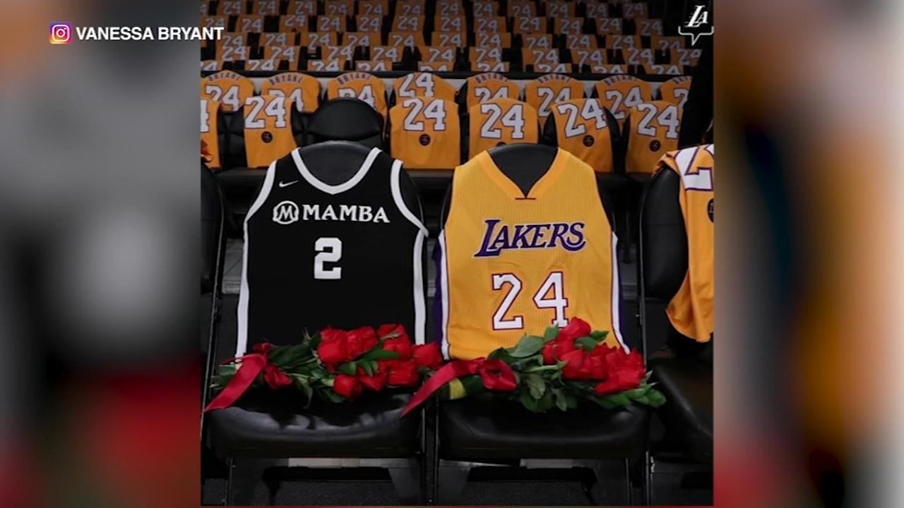 Vanessa Bryant posts photo of Kobe's, Gianna's jerseys: 'There is ...