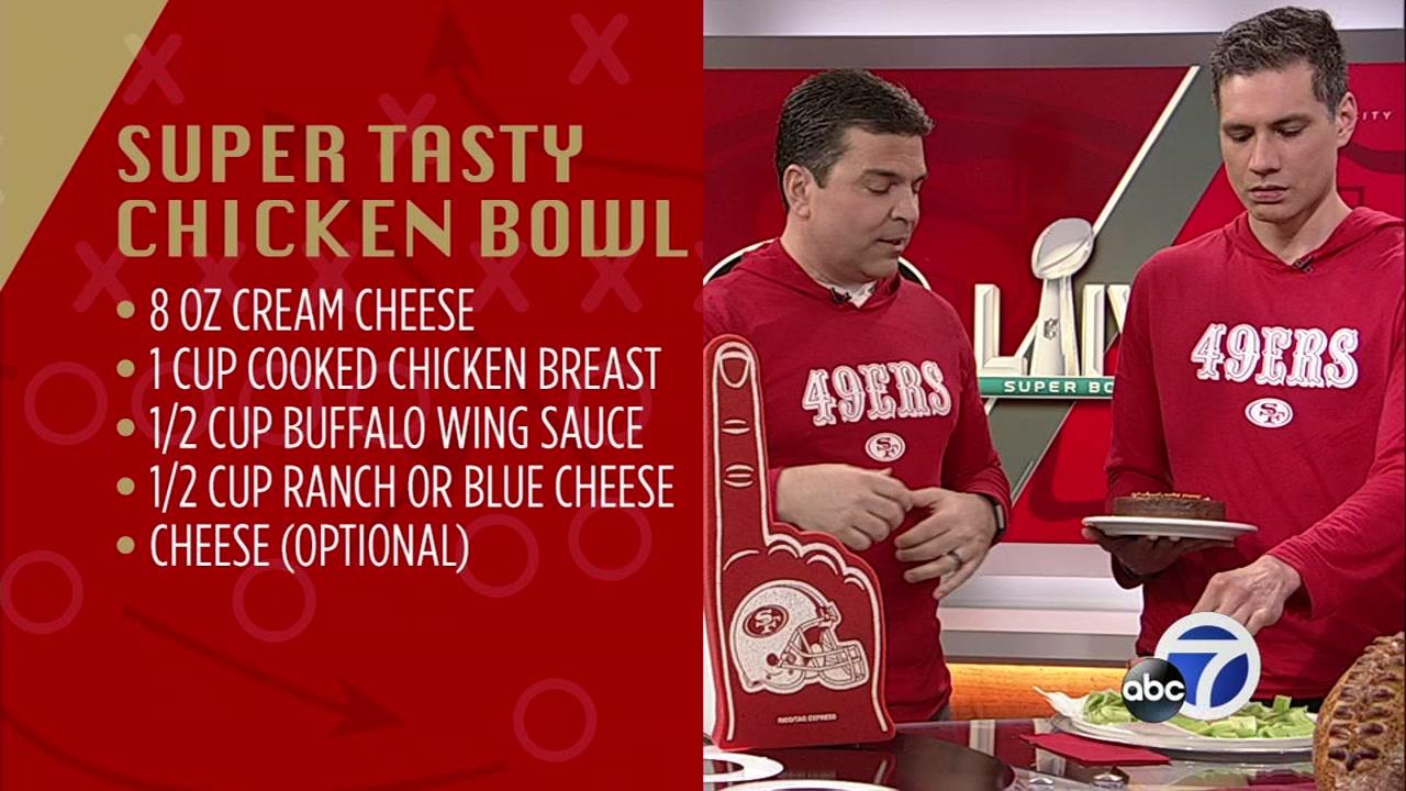 Mike Nicco's Super Tasty Chicken Bowl recipe