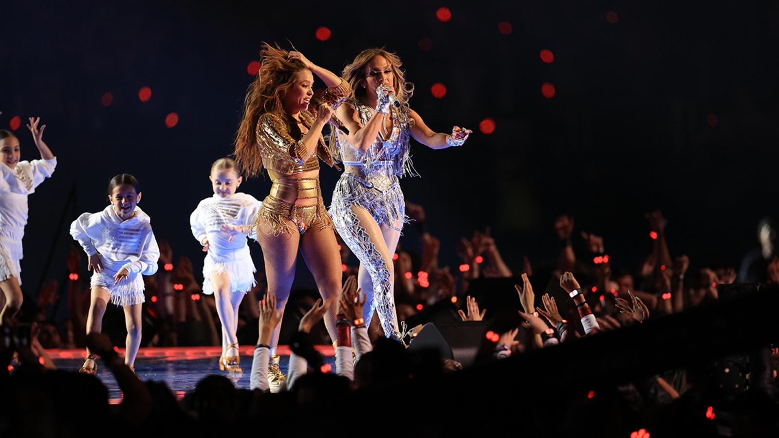 Jennifer Lopez Shakira Take Stage At Super Bowl 2020 Halftime Show Abc7 San Francisco