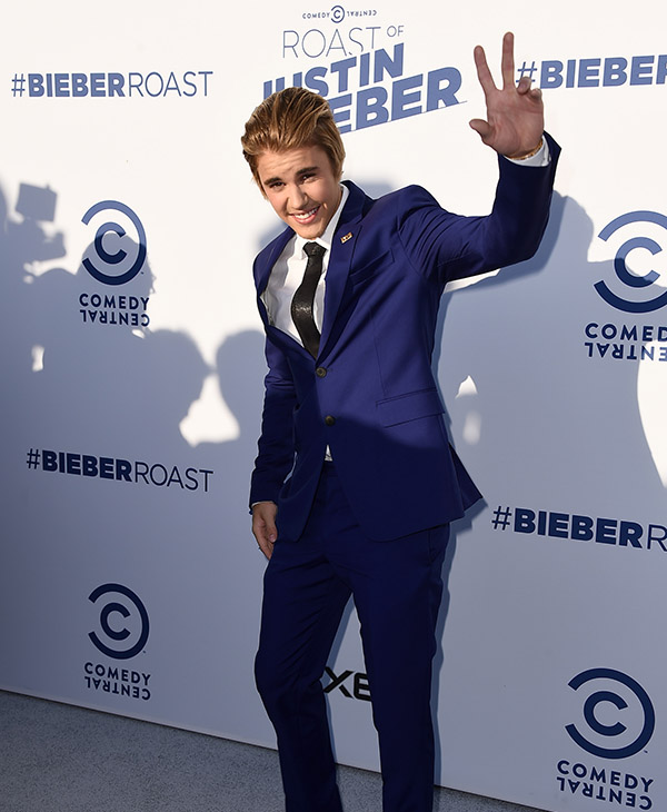 "<div class=""meta image-caption""><div class=""origin-logo origin-image ap""><span>AP</span></div><span class=""caption-text"">Justin Bieber arrives at the Comedy Central Roast of Justin Bieber at Sony Pictures Studios on Saturday, March 14, 2015, in Culver City, Calif.</span></div>"
