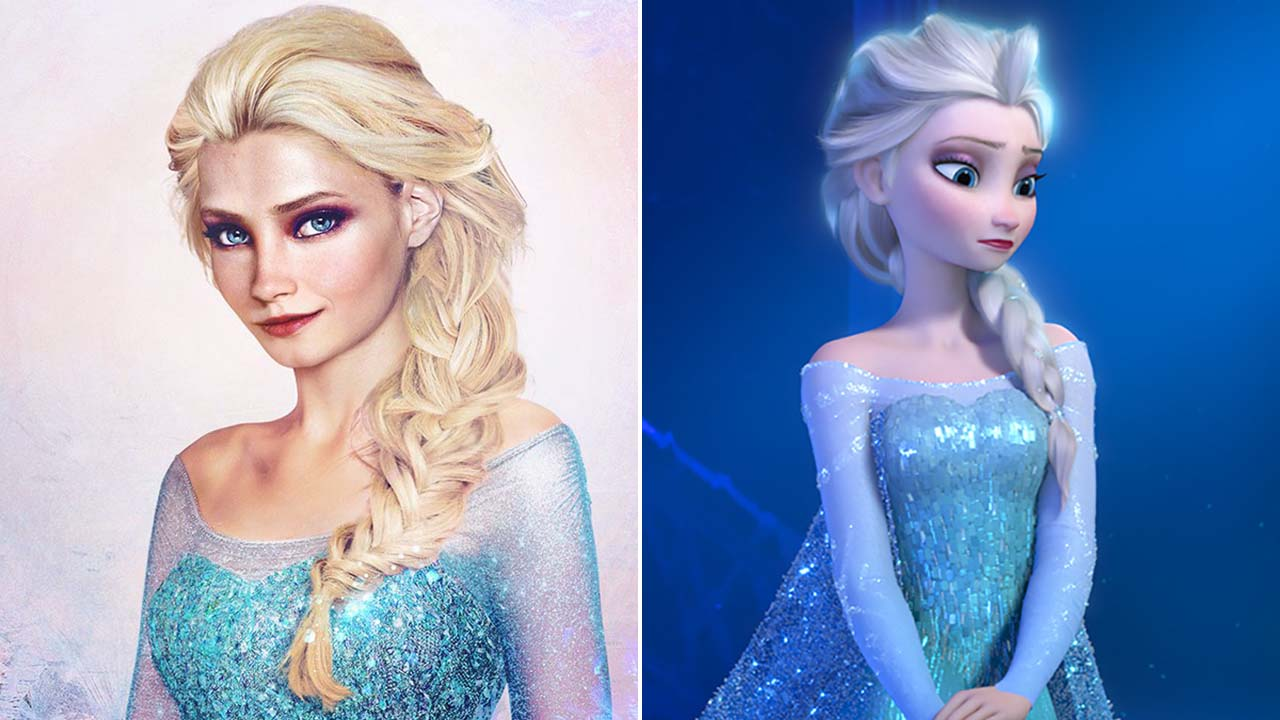 Artist Brings Classic Disney Princesses To Life In Incredible