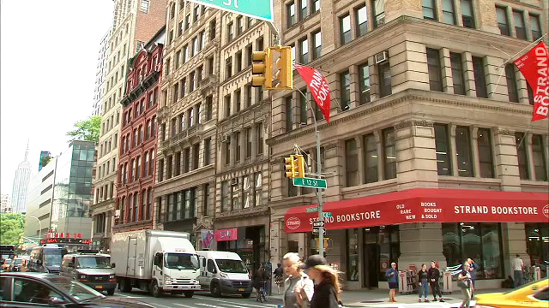 Coronavirus New York City: Strand Bookstore closed, lays off most of staff after coronavirus crisis cripples business - ABC7 New York