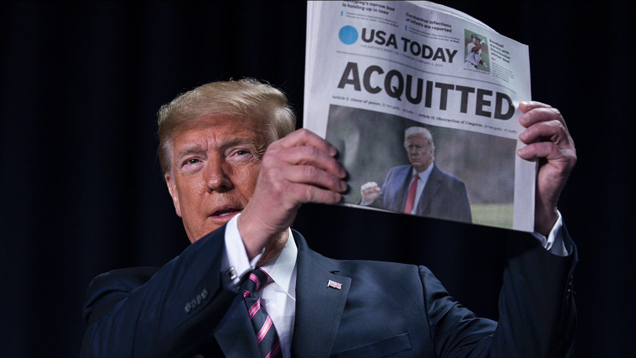 Image result for trump acquitted