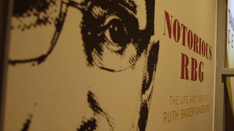 Notorious RBG exhibit opens at Illinois