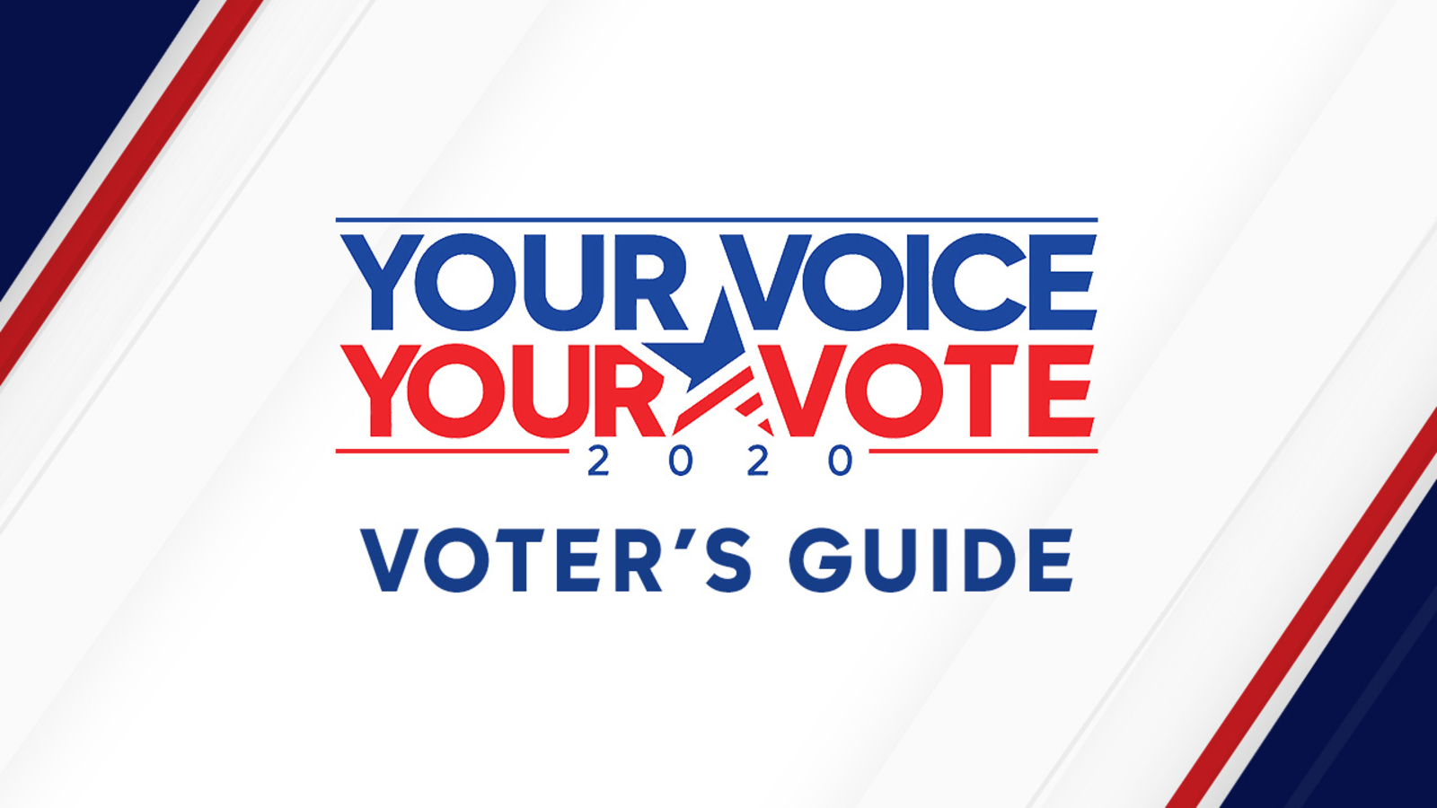 2020 California Primary Election voter's guide